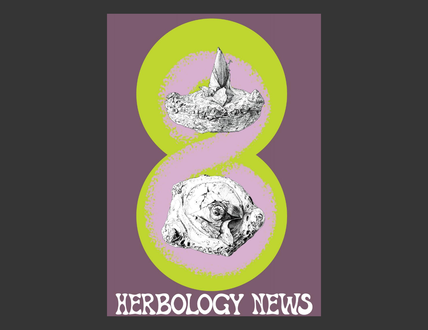 Herbology News - The Energy Issue - cover by Marianne Hazlewood